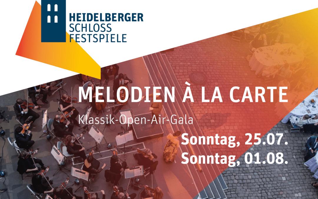 MELODIEN À LA CARTE | Klassik-Open-Air-Gala
